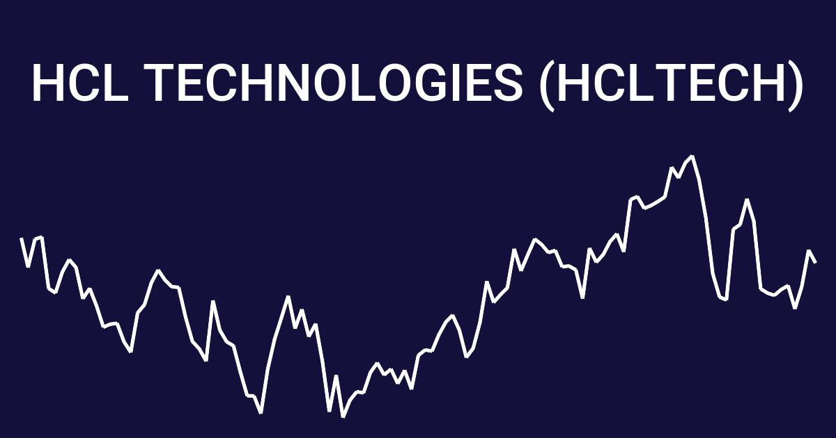 Hcl Technologies Hcltech 19 Year Stock Price History Wallmine